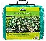 Dehner Wespenschutz-Netz, ca. 5 x 4 m, Kunststoff, grün