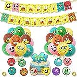Sponge Bob Theme Luftballons, Party Luftballons für Kinder, Cartoon Charakter Party Luftballons , Party Dekorationen Zubehör für Geburtstag Party Karneval oder Hochzeit