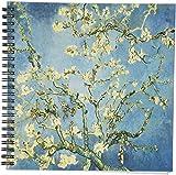 3dRose DB 128160_ 1Zweige der einen Mandelbaum in Blossom von Vincent Van Gogh Zeichenheft, 8