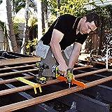 Qagazine Präzises Bodenbelag-Installationsset, Deck-Abstandshalter aus Kunststoff, 10 Rahmen Abstandshalter für Bienenstock-Abstand, Imker-Zubehör für Arbeitswerkzeug