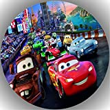 Fondant Tortenaufleger Tortenbild Geburtstag Disney's Pixar Cars AMA16