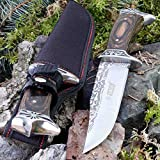 KanDar SA-42 • FESTSTEHENDE Messer JAGDMESSER • Gesamtlänge: 306mm • FTM-de.