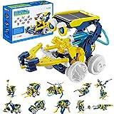 OFUN 11 in 1 Solar Roboter, STEM Spielzeug Bausatz Set Bausteine Bausätze Konstruktions Lernspielzeug Wissenschaftliches Kit als DIY Geschenk für Kinder ab 8 J
