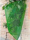 Zaun Sichtschutz Künstliche Pflanzenwand Gartenzaun Netz Schneezaun Recycelbare Kunststoffbarrieren 0,8 cm Maschenlöcher Reißfestigkeit für die Gartenarbeit auf der Baustelle Chihen210416