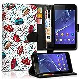 wicostar Wallet Book Style Flip Handy Tasche Case Schutz Hülle Schale Motiv Etui für Nokia Lumia 520 - Design Flip MVD98