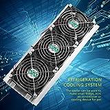 Thermoelektrischer Kühler Dreikern-Halbleiter-Kühler Kälteblatt Ki für Testbank-Kühlung für kleine R