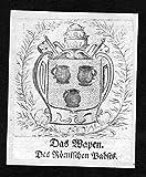Das Wapen des Römischen Pabst - Papst pope pontifex Rom Rome Wappen Adel coat of arms heraldry Heraldik Kup