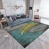 Gpink Niedlicher Cartoon-Teppich Wohnzimmer Couchtisch Bodenmatte Schlafzimmer Nachttischdecke Waschbar Dicke rutschfeste Großflächige Bodenmatte