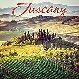 Graphique Tuscany Wandkalender, 16 Monate Kalender 2022, 30,5 x 30,5 cm, mit 3 Sprachen, 4-Monats-Vorschau und markierte Feiertage