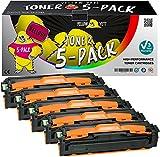 Yellow Yeti 5 Premium Toner kompatibel für Samsung Xpress SL-C1810W SL-C1860FW CLX-4195FN CLX-4195FW CLP-415N CLP-415NW   P504C K504S 2.500 Seiten C504S M504S Y504S 1.800 Seiten