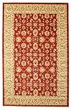 RugVista Teppich Ziegler Kaspin, Kurzflor, 192 x 300 cm, Rechteckig, Orientalisch, Ziegler, Öko-Tex Standard 100, Polypropylen, Schlafzimmer, Wohnzimmer, Rot