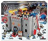 STARLUX MBI Schloss, Ritter und Soldaten, Bombarde, 404002, Grau, Schwarz, Rot, B