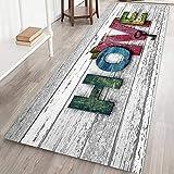 Qianren Bereich Teppich Teppichbodenmatte für den Heimbereich Bodenmatte für Wohnzimmer Badezimmer Dekoration Teppich Anti-R