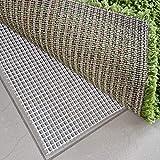 Power-Preise24 Teppichgleitschutz in Weiß/Beige - Rutschhemmende Teppichunterlage waschbar und zuschneidbar - Teppichstop Antirutschmatte Fußbodenheizung geeignet Maße wählbar, Größe:70 x 150
