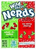 Wonka Nerds Wild Cherry and Watermelon Box 46.7g