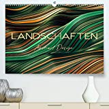 Landschaften Abstract Design (Premium, hochwertiger DIN A2 Wandkalender 2021, Kunstdruck in Hochglanz)