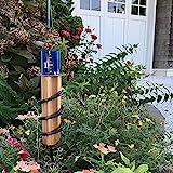 AINIYA Regenmesser, Niederschlagsmesser Kupfer-Regenmesser Genauer schwimmender Regenmesser für Rasengärten und Landschaften zur genauen Regenwassermessung für Rasen Garten