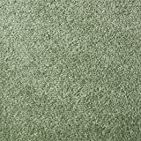 Teppichfliesen selbstliegend Velours Schatex Simply Soft'2741 Hellgrün' (20 Fliesen = 5 m²), Farbe: Grün, Größe: 50 x 50