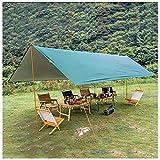YYGG Camping Zeltplane, Tent Tarp, Tarp für Hängematte, Wasserdicht Leicht Kompakt Zeltunterlage Picknickdecke Hammock für Camping Outdoor Plane für Ourdoor Camping