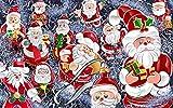 ATggqr 1000 Stück Puzzles für Erwachsene Weihnachtsmann 50x75cm Jigsaw Puzzles Intellektuelles Spiel für Erwachsene Kinder Geschicklichkeitsspiel für die Ganze Familie