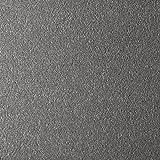 Handmuster zu Teppichfliesen selbstliegend Velours Schatex Simply Soft'2718 Grau' (20 Fliesen =5 m²), Farbe: Grau, Größe: 50 x 50