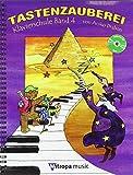 Tastenzauberei, Band 4 - Klavierschule mit Audio-CD ISBN 9789043134613 - Lehrgang für Klavier - Deutsch, mit CD