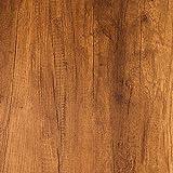 Livelynine 40CMx5M Klebefolie Möbel Rustikal Klebefolie Holzoptik Möbelfolie Holz Selbstklebend Folie für Möbel Küchenarbeitsplatte Tisch Schreibtisch Funier Arbeitsplatte Küche Küchenschrank Bekleben
