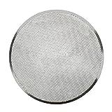 Pizza-Sieb, nahtlos, rund, Aluminiumgeflecht, Pizzaschieb, Backblech für Zuhause, Küche, Restaurant