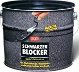 Lugato Schwarzer Blocker Spachtelmasse 1 kg - Für Abdichtungs-, Reparatur- und Klebearbeiten am D