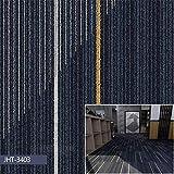 Teppichfliesen selbstklebend Teppichboden Bodenbelag Nadelfilz Fliese, Modern Rückseite aus Gummi Anti-Rutsch Emissions- & geruchsfrei, für Terrasse, Balkon und Freizeit (5m²,M)