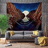 Japanischer Stil großer Wandteppichwal-Drachenfisch-Drache und Phönix-Totem-Wandbehang böhmisches Hintergrundtuch A19 73x95cm