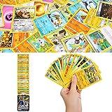 YNK 324pcs Karten Set, Spielkarten mit EX Karten & GX Karten & MEGR Karten, Trading Card game Sammelkarten für Party Kinder