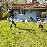 Schecker Longier Set für Hunde mit einem Radius von 3-3,5 m stärkt Konzentration Aufmerksamkeit longieren Hund