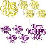 Cotiny Kuchendekoration 'Happy Mother's Day', Aufschrift 'Best Mom Ever', 10 Stück