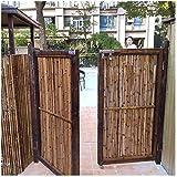 JinSui Bambus Sichtschutz Balkon Dekorative Zäune Bambuszaun Sichtschutz Winddichter Durchmesser Für Balkone Terrasse Außenpool Gartenzaun Gartensichtschutz