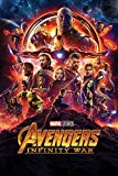 Avengers: Infinity Krieg 'ein Blatt' Maxi Poster,61 x 91.5 cm