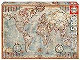 Educa 16005 - Politische Weltkarte, 1500 Teile Puzzle