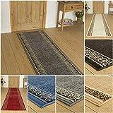 Amcerd Teppich Läufer, Korridor Teppich rutschfest, rutschfest Waschbar für Wohnzimmer Flur Büro Schlafzimmer Küche - 50x400