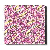 N\A Wand-Kunst-Dekor für Wohnzimmer Schöne Bunte süße Marshmallow-Wohnkultur-Wand-Kunst-Leinwand-dekorative Malerei Geeignet für Wohnkultur