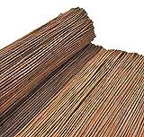 Nature LOUNGE Weidenmatte 180 x 300 cm - Hochwertiger Weiden Sichtschutz Zaun - Weidenzaun Matte für Haus, Garten und Balkon
