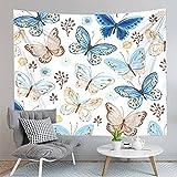3D Schmetterling Tapisserie Dekoration Wandbehang Panda Muster Home Dekoration Hintergrund Stoff Tapisserie Decke A2 73x95cm