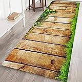 Teppichmatte, rutschfest, groß und gestreift, für Wohnzimmer, Schlafzimmer, Flur, Küche, Textil, h, 60x180cm/2x6