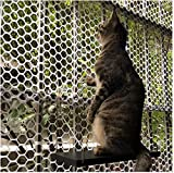Zaun Sichtschutz Windschutz Balkon Wraps Kunststoff Draht Mesh Gartenzaun Net Deck Shield 1,2 cm Mesh Loch Schnitt mit 50 Kabelbindern für Balkone Hundebett GCSQF210407