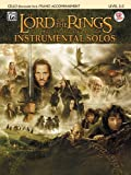ALFRED PUBLISHING SHORE HOWARD - LORD OF THE RINGS + CD - CELLO AND PIANO Noten Pop, Rock. Filmmusik - Musicals