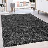 Paco Home Hochflor Shaggy Langflor Teppich versch. Farben u. Grössen TOP Preis NEU*OVP, Grösse:70x140 cm, Farbe: