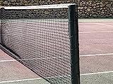 Diamante 1009-Tennisnetz, schwarz, 12.8x 1.07m