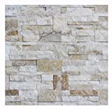 1 Muster W-010 Quarzit Wand-Design Wandverblender Wandverkleidung Steinwand Naturstein Verblender Lager Verkauf Stein-Mosaik Herne NRW
