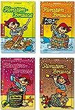 8 x * PIRATEN BRAUSE * ┃ Mitgebsel Kindergeburtstag ┃ Süßigkeiten mit 4 Geschmäcker ┃ Hersteller aus Deutschland ┃ Kinder lieben diese Brause