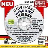REPARATUR CD DVD für WINDOWS 10 Windows 8 - Win 7 - Vista - XP 32 & 64 bit Sony HP ASUS LENOVO
