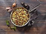ration1 Bratkartoffel mit Speck und Ei 1x 400g - 10 Jahre haltbar! Glutenfrei! Einfach öffnen und kalt oder warm genießen - keine weiteren Zutaten notwendig!